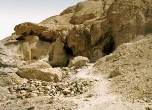 coptic hermit cave