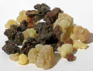 incense resin