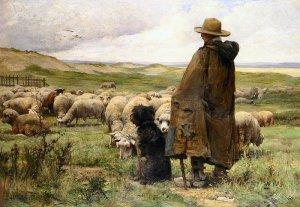 The Shepherd, by Julien Dupre