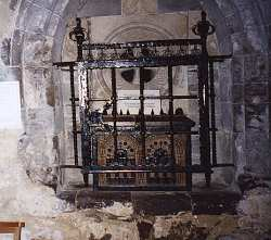 justinian relics