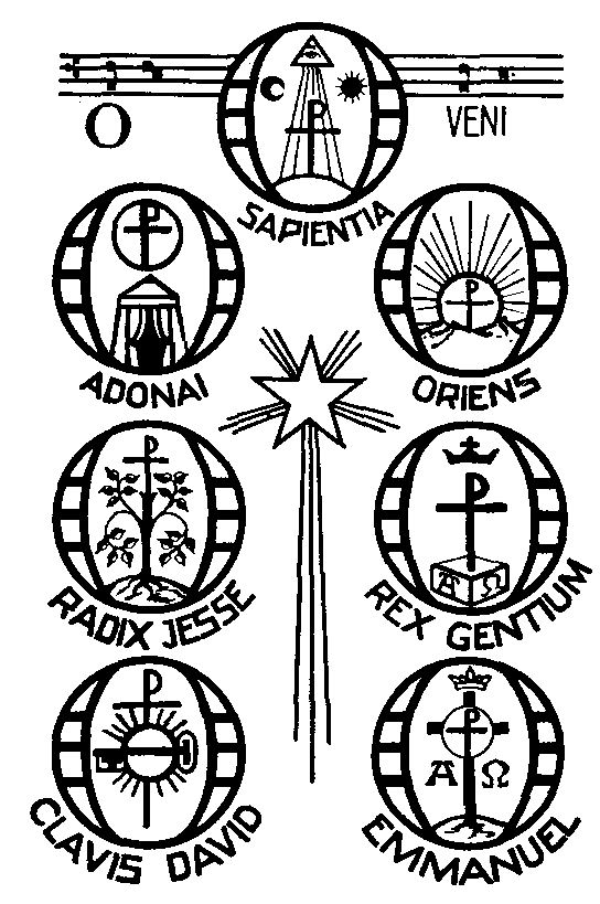 17 december o sapientia o wisdom o wisdom coming forth