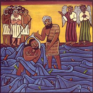 baptism naked