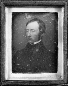 NPG P116; Robert Curzon, 14th Baron Zouche by Richard Beard