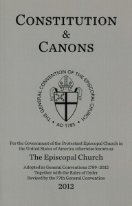 episcopal canons
