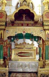 seraphim of sarov relics
