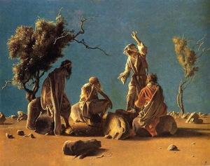 anchorites in the desert