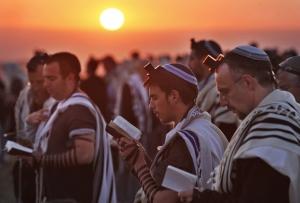 MIDEAST ISRAEL JEWISH SUN BLESSING