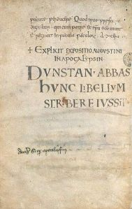 dunstan book