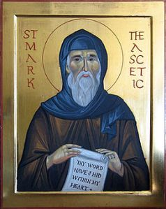st mark the ascetic