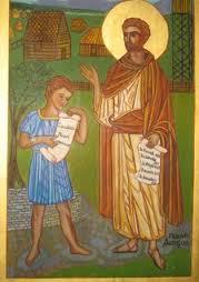 Maelruain and Oengus