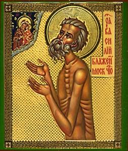 Basil fool for Christ