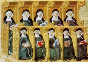 benedictine nuns praying