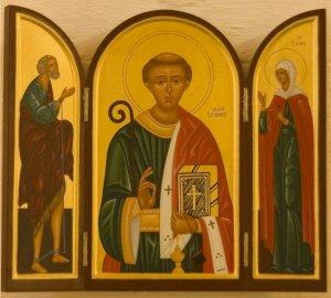 St Leonard icon