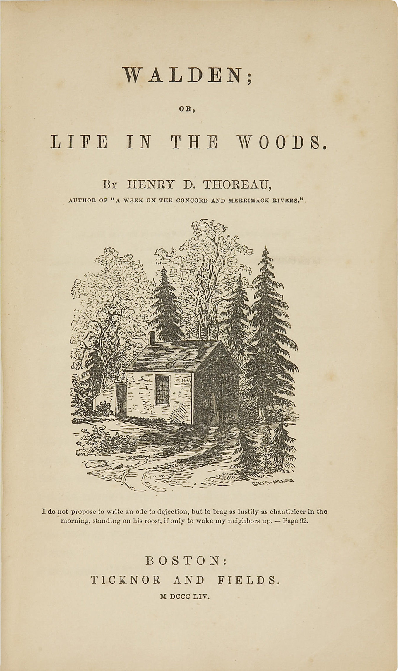 the importance of nature to henry david thoreau and his life at walden Our writer follows in the footsteps of henry david thoreau in thoreau's footsteps: my journey to walden for nature of truth even in thoreau.