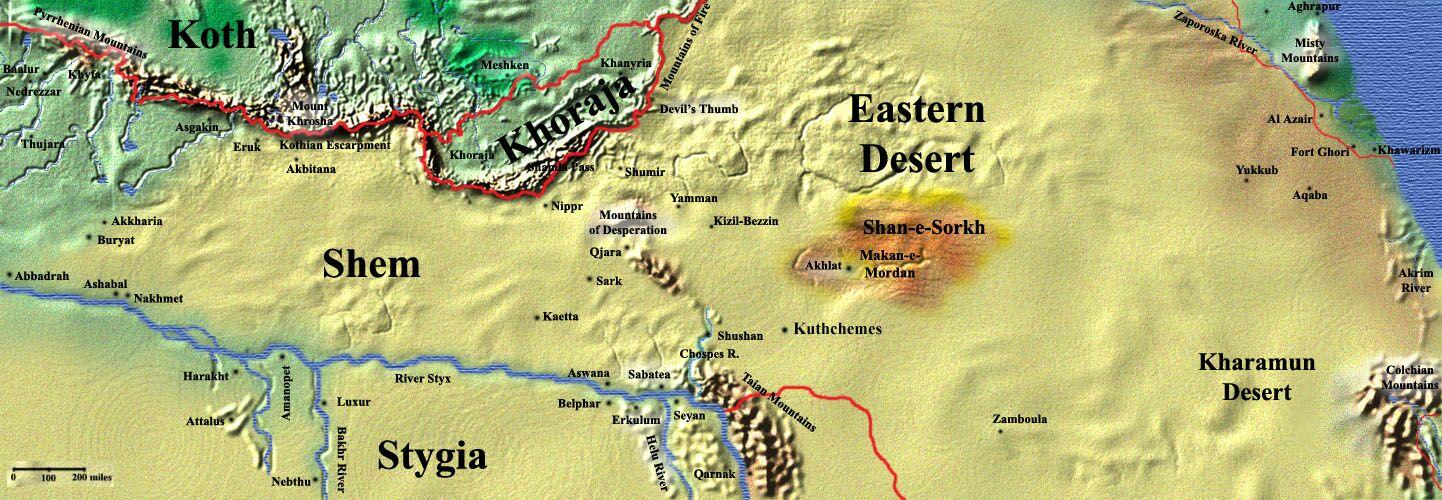 The Eastern Desert Citydesert - Map of egypt eastern desert