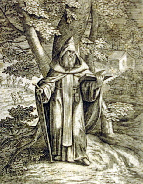 The Hermit Tarot Card Meaning In Readings Isolation: The Hermit Of The Thebaid