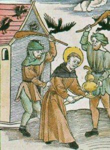 St Meinrad death