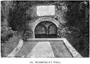 Withburga's well