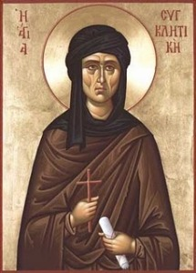 St Syncletica