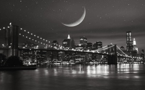 new-york-city-at-night-black-and-white -20143