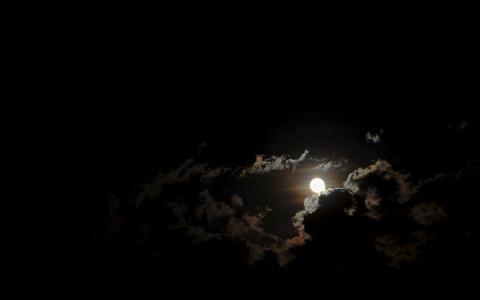 Cloudy Night Sky Stars Citydesert   De...