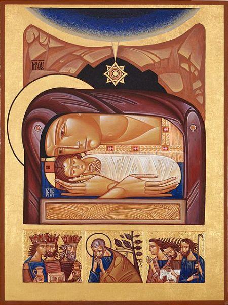 Ukranian nativity icon