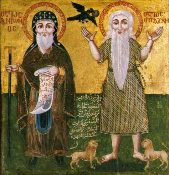 desert fathers image